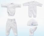 Criada linha de roupa antibacteriana para Recém Nascidos